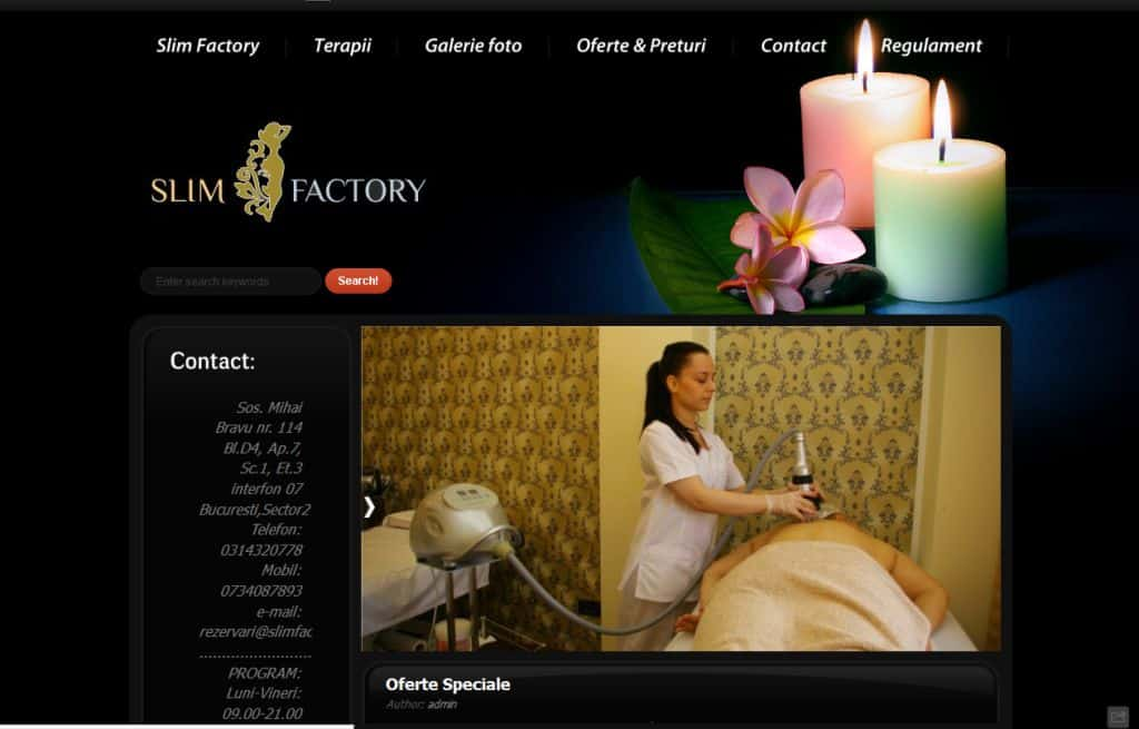 creare_pagina_web_slim_factory